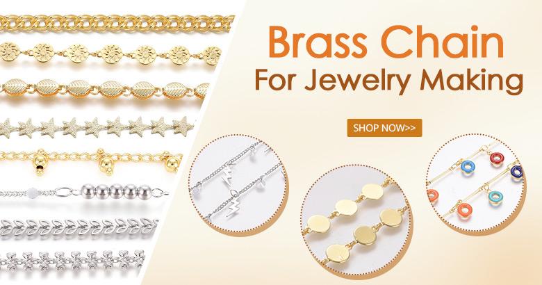 Brass Chain For Jewelry Handmade
