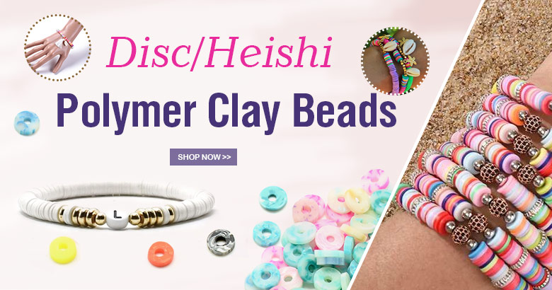 Heishi Clay Beads