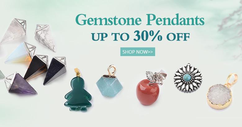Gemstone Pendants  Up to 30% OFF