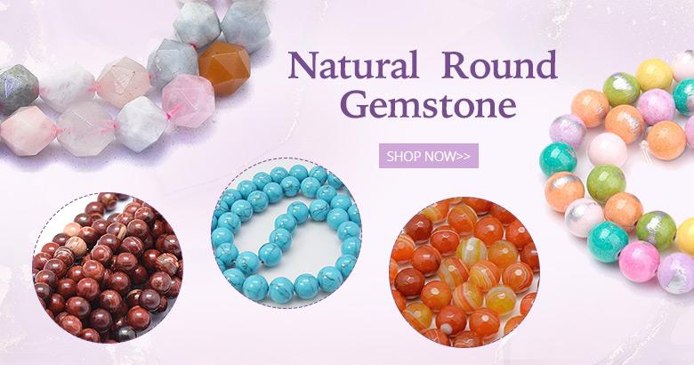 Natural  Round Gemstone