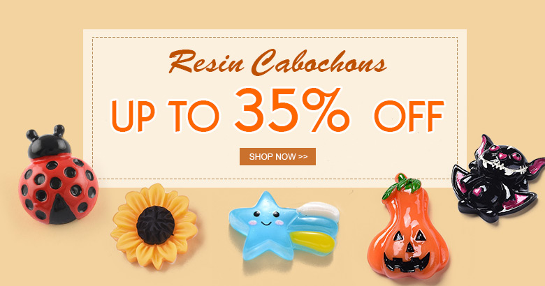 Resin Cabochons Up to 35% OFF