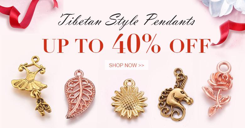 Tibetan Style Pendants Up to 40% OFF