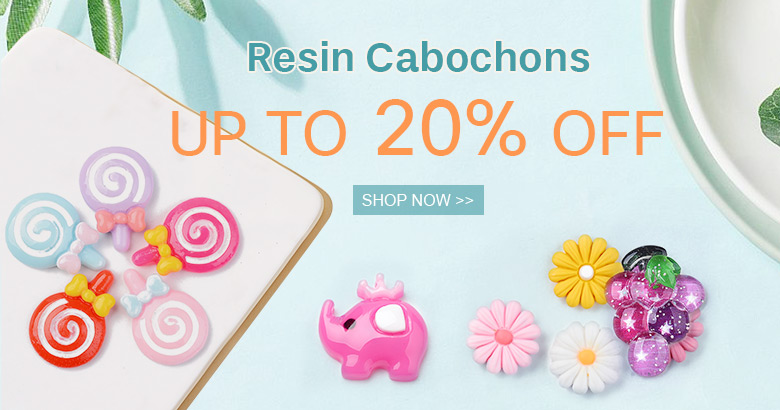 Resin Cabochons Up to 20% OFF