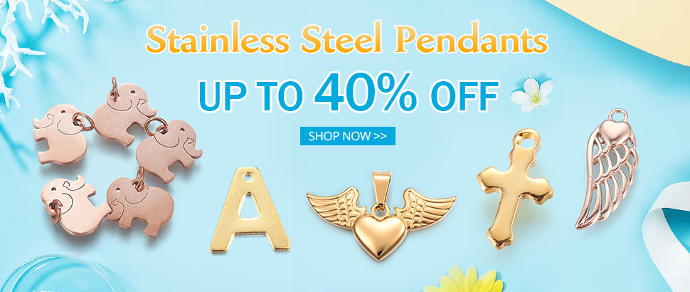 Stainless Steel Pendants  Up to 40% OFF