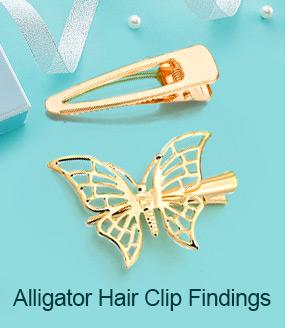 Alligator Hair Clip Findings