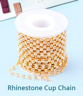 Rhinestone Cup Chain