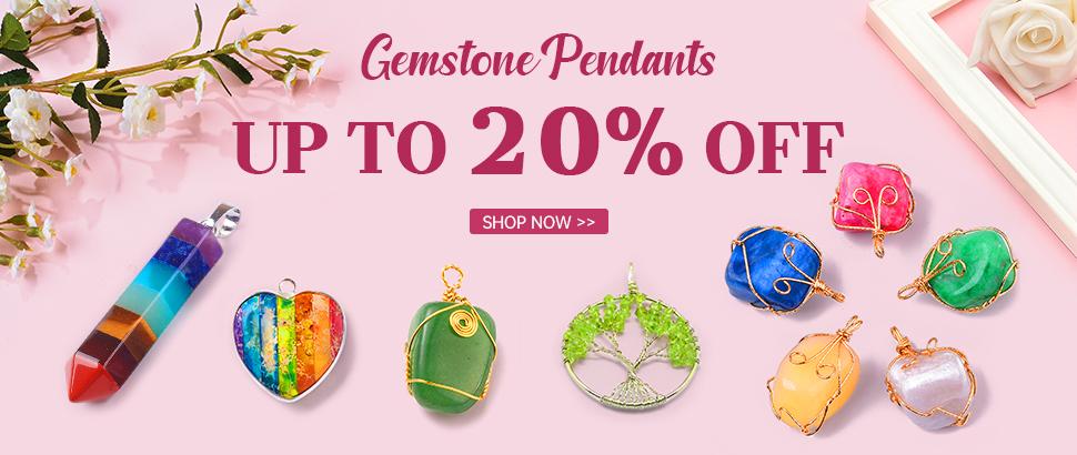 Gemstone Pendants Up to 20% OFF