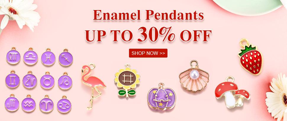 Enamel Pendants  Up to 30% OFF