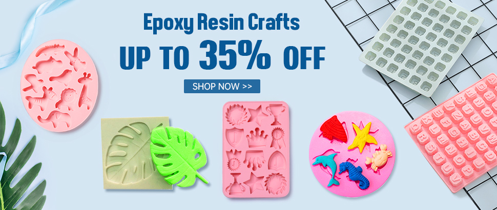 Epoxy Resin Crafts Up to 35% OFF
