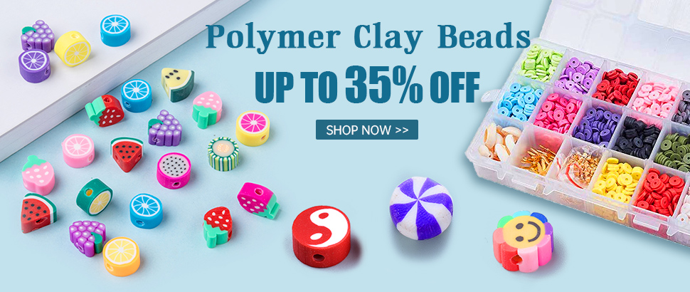 Polymer Clay Beads Up to 35% OFF
