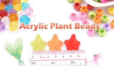 Acrylic Plant Beads