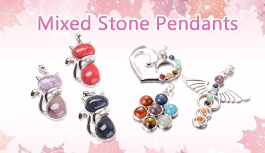 Mixed Stone Pendants