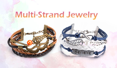 Multi-Strand Jewelry And Findings