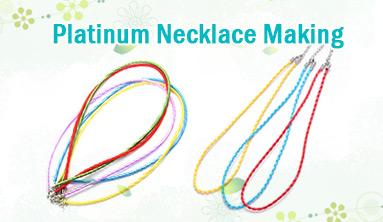 Platinum Necklace Making