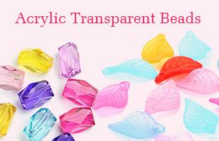 Acrylic Transparent Beads