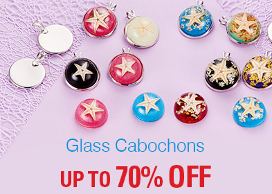 Glass Cabochons UP TO 70% OFF