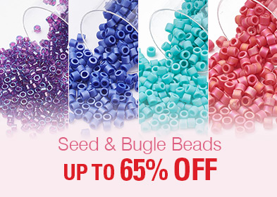Seed & Bugle Beads UP TO 65% OFF