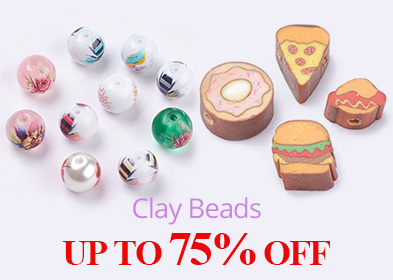 Clay Beads UP TO 75% OFF