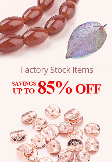 Factory Stock Items Savings Up to 85% OFF