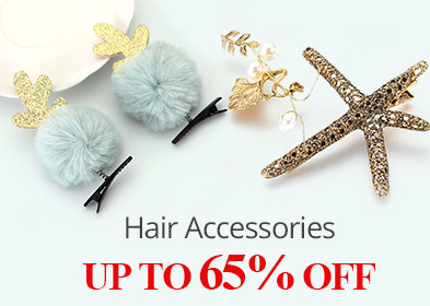 Hair Accessories UP TO 65% OFF