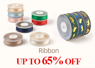 Ribbon UP TO 65% OFF