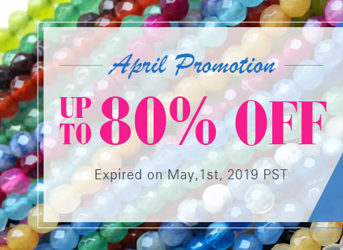 April Promotion Up to 80% OFF
