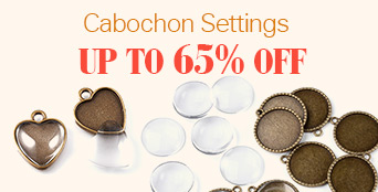 Cabochon Settings UP TO 65% OFF