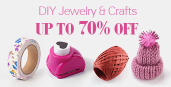 DIY Jewelry & Crafts UP TO 70% OFF