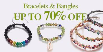 Bracelets & Bangles Up To 70% OFF