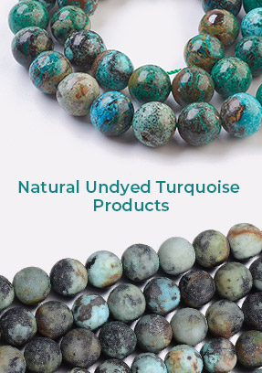 Natural Undyed Turquoise Products