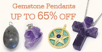 Gemstone Pendants Up to 65% OFF