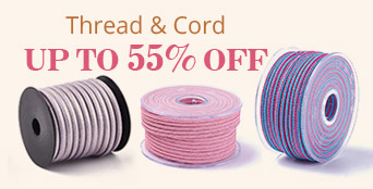 Thread & Cord Up to 55% OFF