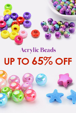 Acrylic Beads Up to 65% OFF