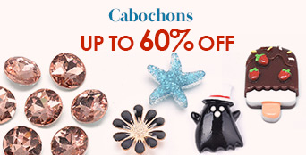 Cabochons Up to 60% OFF
