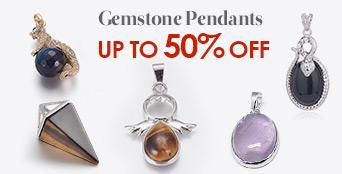 Gemstone Pendants Up to 50% OFF