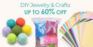 DIY Jewelry & Crafts Up to 60% OFF