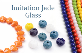 Imitation Jade Glass