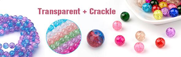 Transparent + Crackle
