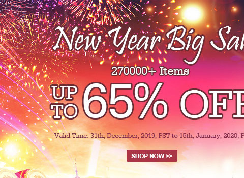 New Year Big Sale 270000+ Items Up To 60% OFF