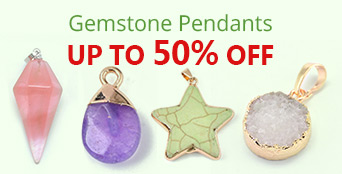 Gemstone Pendants Up to 50% OFF