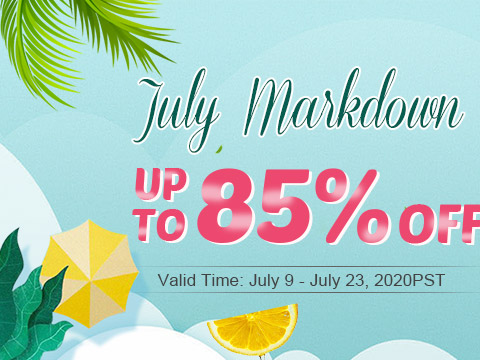 July Markdown Up To 85% OFF