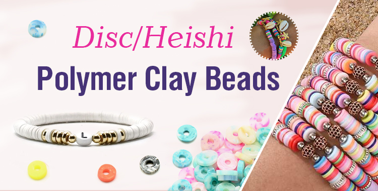 Disc/Heishi Polymer Clay Beads