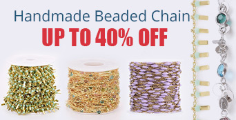 Handmade Beaded Chain Up to 40% OFF