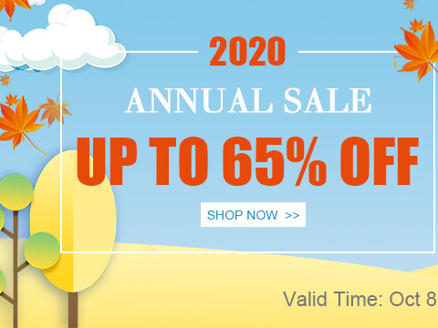 2020 Annual Sale Up To 65% OFF