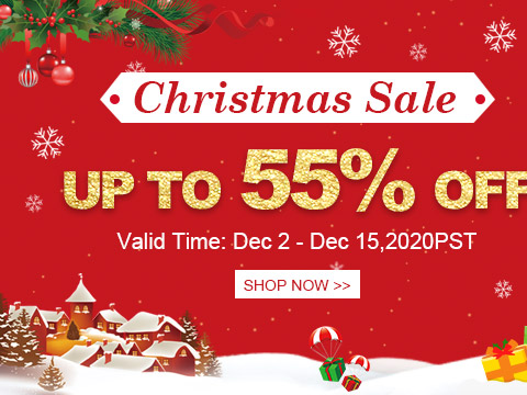 Christmas Sale Up to 55% OFF