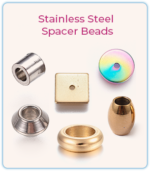 Stainless Steel Spacer Beads