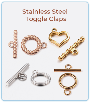 Stainless Steel Toggle Claps