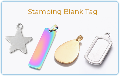 Stamping Blank Tag