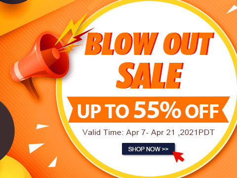 Blow Out Sale Up to 55% OFF
