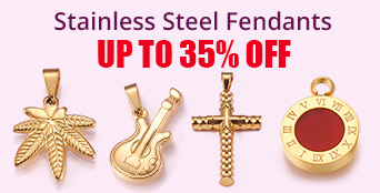 Stainless Steel Fendants Up To 35% OFF